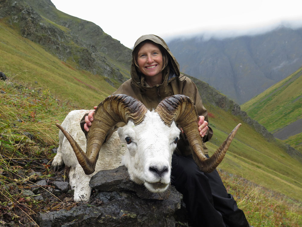 Alaskan Sheep Hunter