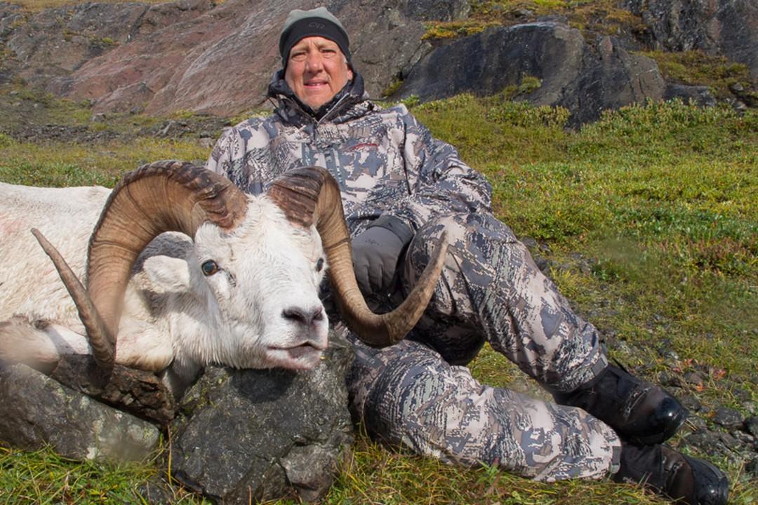 Alaska Governors Tag Sheep Hunt