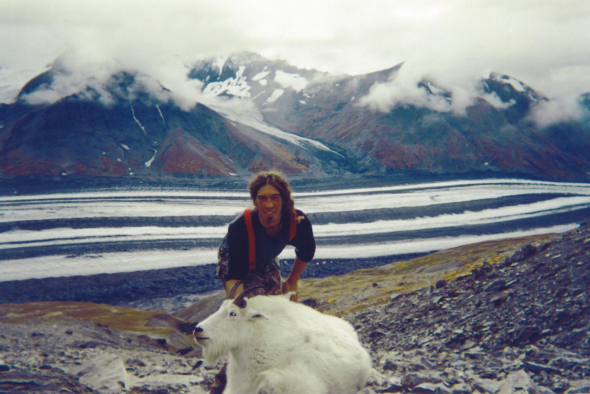 Trophy Goat Hunt Alaska