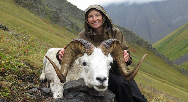 Hunting Sheep In Alaska With Kara Nicolet. Kara Is 2nd Generation From Alaska..
