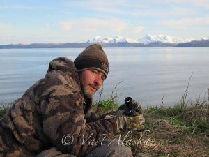 Big Brown Bear Alaska with Vast Alaska